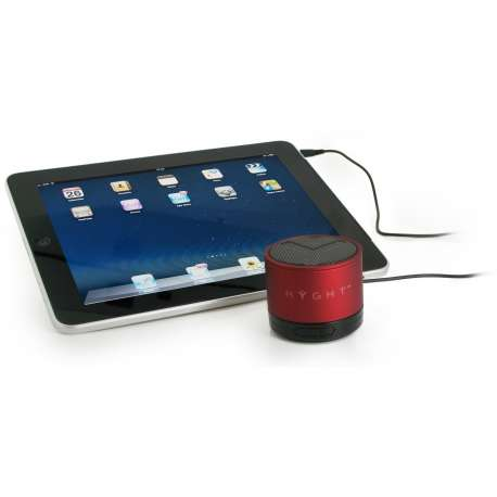Enceinte portable RYGHT Y-STORM PURE COLOR ROUGE