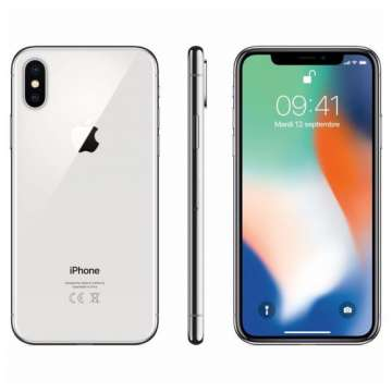 IPHONE X 256GO SILVER