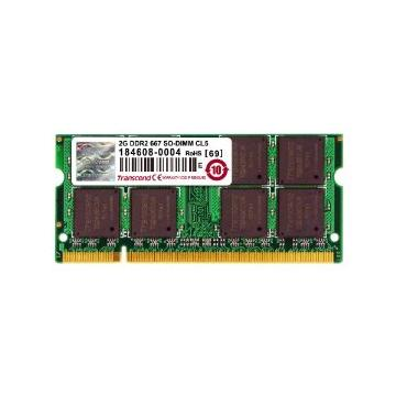 Barette de ram so-dimm 2 GO DDR2 677 TRANSCEND ou PATRIOT