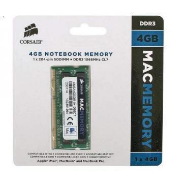 BARETTE DE RAM 8 GO (2X4 GO) 1066MAC MEMORY CORSAIR