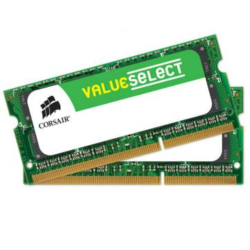 BARETTE DE RAM 2X8 GO VALUE SELECT CORSAIR